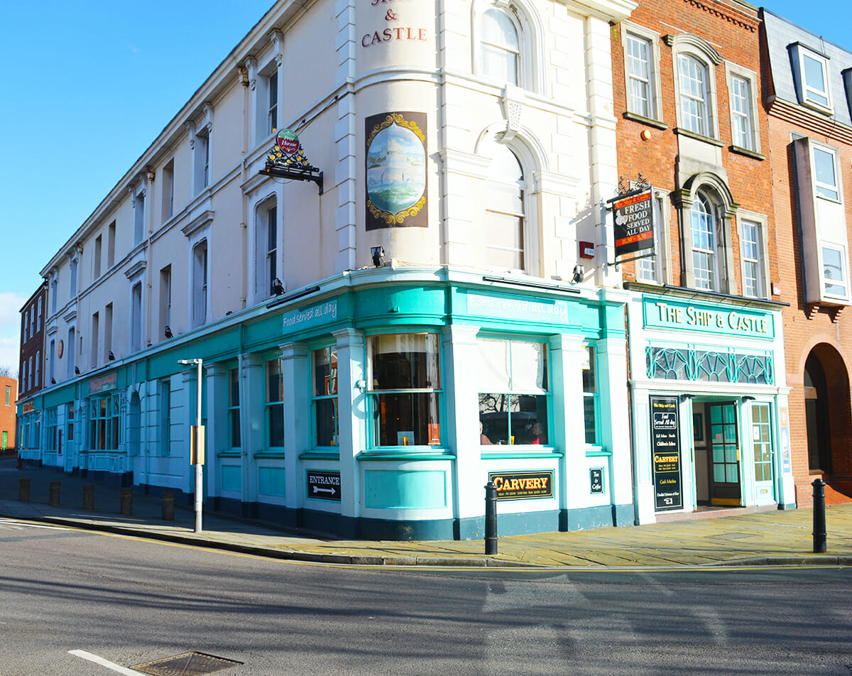 Pubs in Portsmouth - Ship & Castle launch Burger of the Week