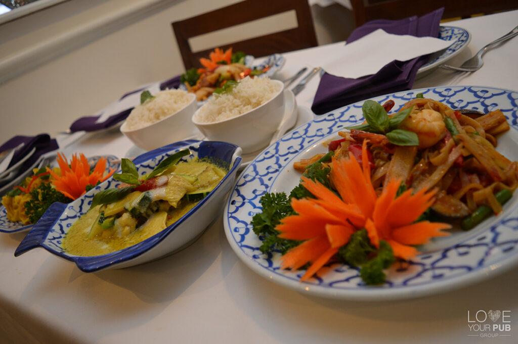 Lovely Thai Restaurants In Winchester Manow Thai Dine