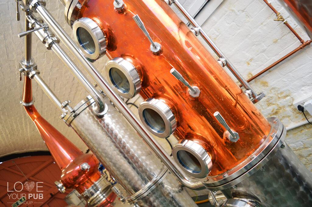 Distilleries in Hampshire - Portsmouth Distillery Cinnabar Spiced Rum Wins Bronze !
