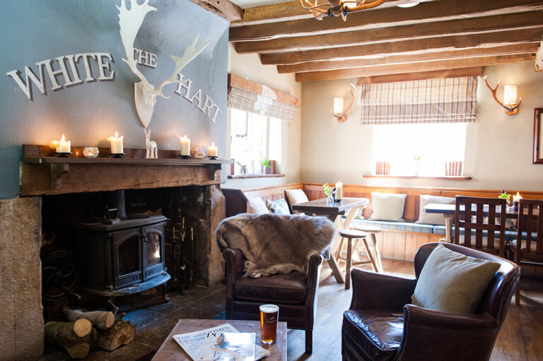 Date Night In West Sussex - Book Your Table At The White Hart South Harting Today