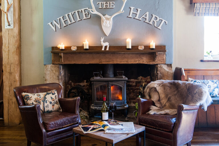 Pubs With Rooms In West Sussex - The White Hart South Harting - Boutique Rooms And Beautiful Views!