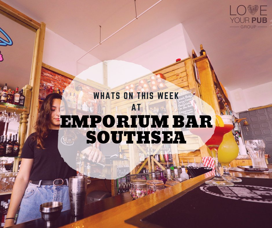 Whats On This Week Hampshire Venues - Emporuim Southsea