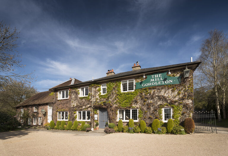 Best Country Pubs in Hampshire - The Mill Inn Gordleton - The Perfect Place To Stop After A Winters Walk in the New Forest