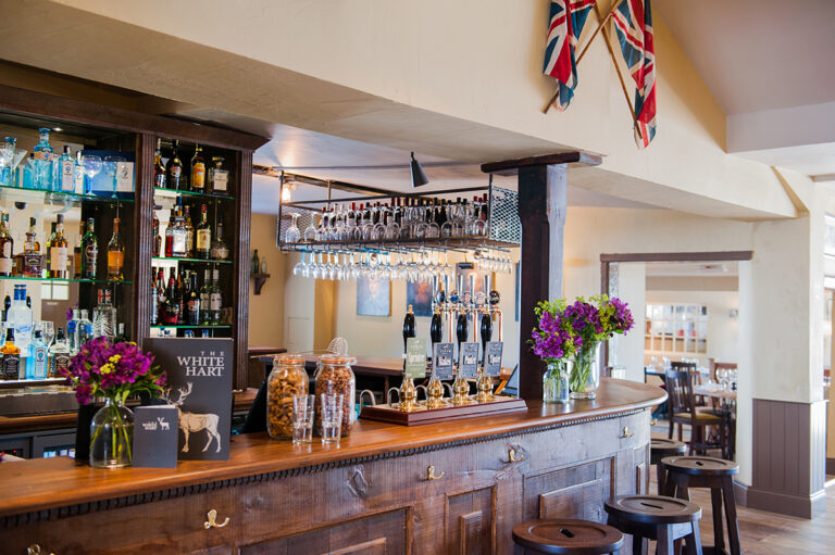 Country Pubs In Hampshire - The White Hart Overton is the Perfect Location This December
