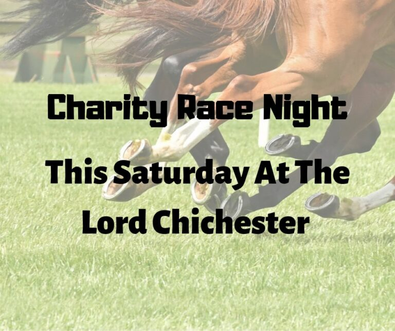Local Pubs In Portsmouth - Join the Lord Chichester For Their Charity Race Night Saturday