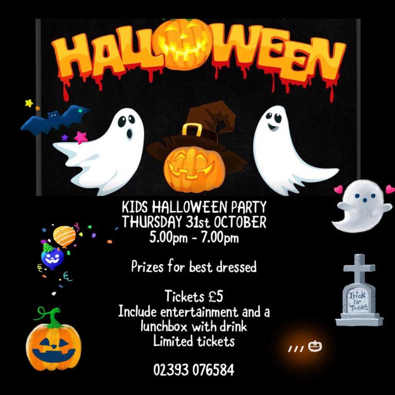 Halloween Parties In Gosport