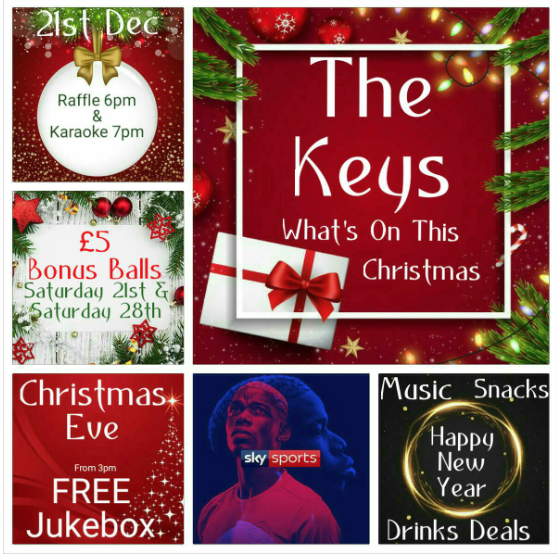 Local Pubs In Southampton This Christmas - Join In All Of The Christmas Fun At The Keys Totton