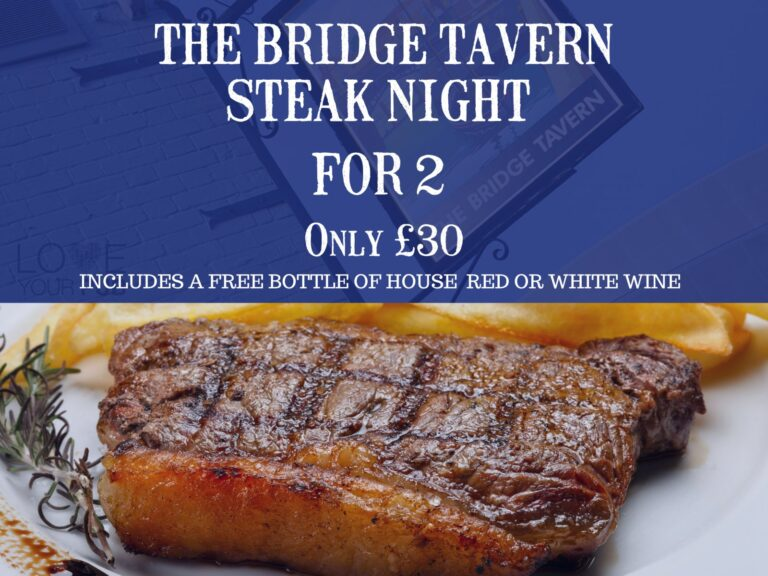 Pubs In Hampshire – The Bridge Tavern This Weeks Steak Night Take A Look ...