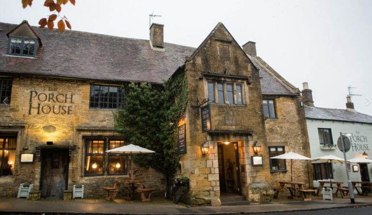 New Member Alert – Love Your Pub Welcomes The Porch House Stow-On-Wold !