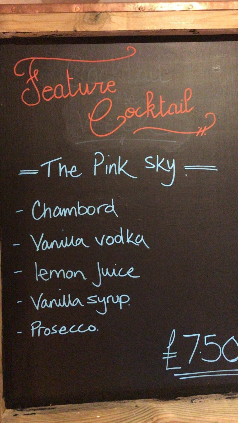 Bars In Waterlooville - Check Out Number 73 Bar And Kitchen Have You Seen Their Featured Cocktail This Week ?!