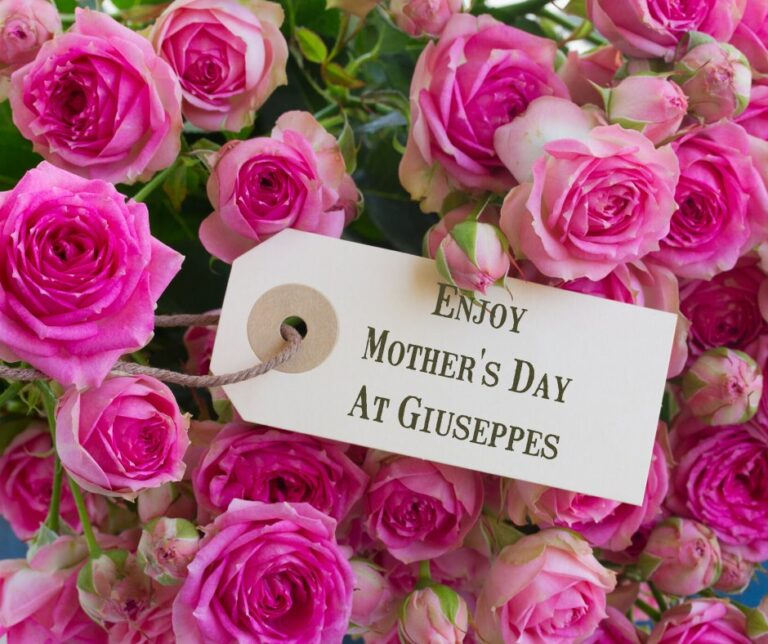 Restaurants For Mothers Day In Southsea -Treat Your Mum To A Taste Of Italy At Giuseppes !