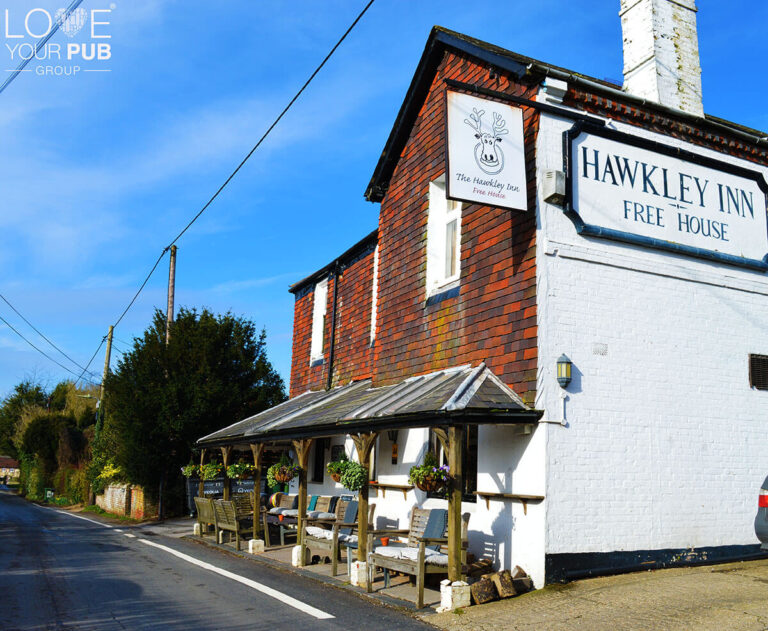 Best Pubs In Liss - A Warm Welcome At The Hawkley Inn !