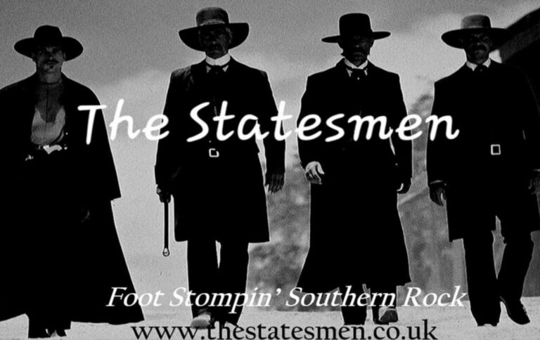 Live Music In Winchester - The Statesman Live At the Rising Sun Colden Common This Friday !