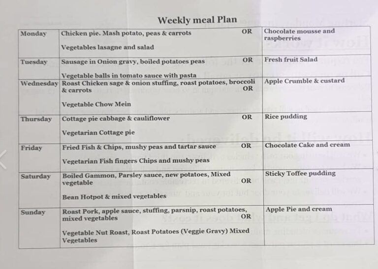 Take Away Food In Portsmouth - Order A Weekly Meal Plan For £4.50 A Day At The Duke Of Buckingham !