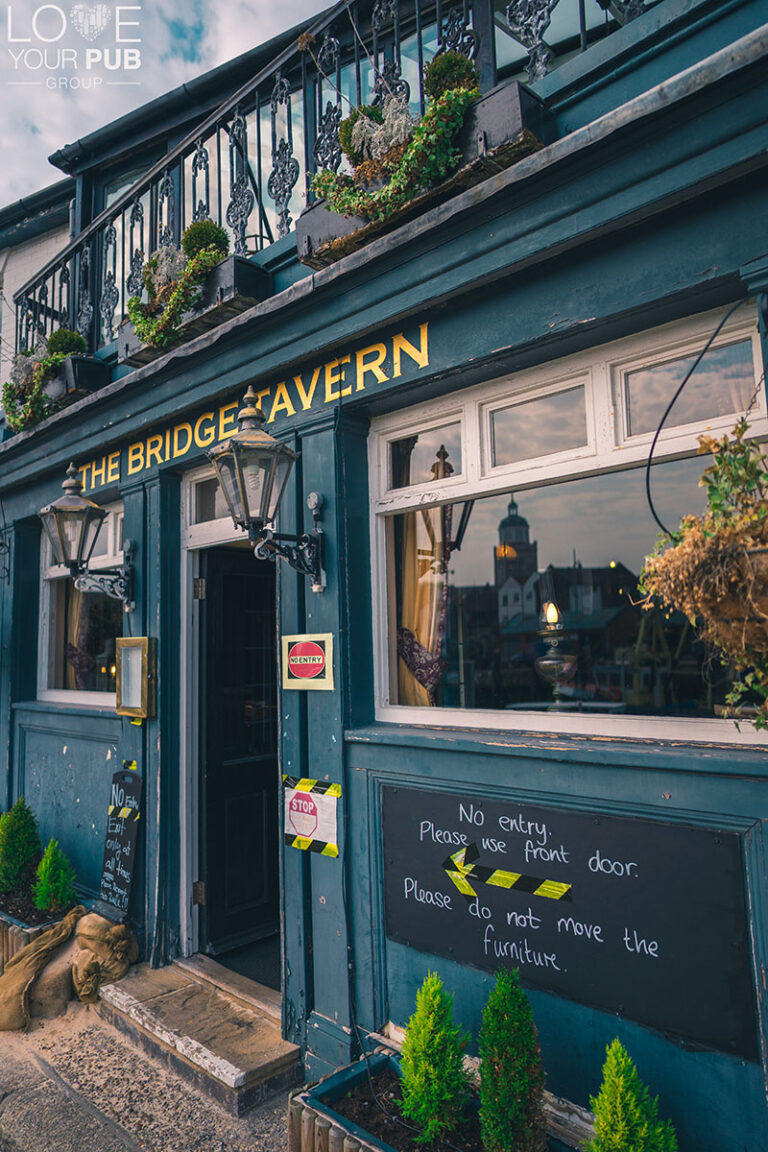 Eating Out In Southsea - The Bridge Tavern Is Now Taking Indoor Bookings For May 17th !