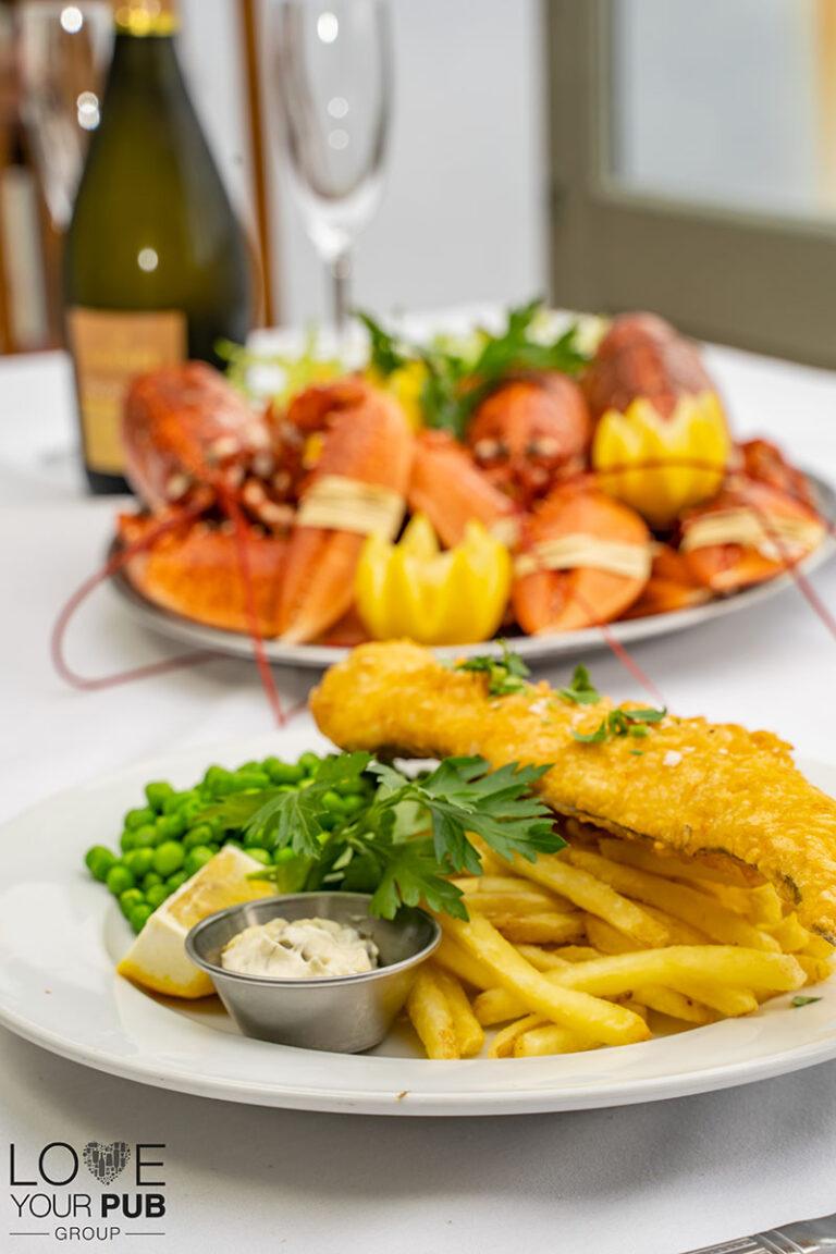 Fresh Seafood In Southsea – The Bridge Tavern Will Be Back Next Week !