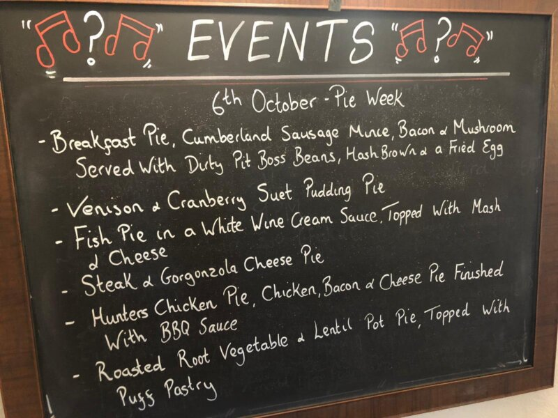 Best Pubs In Hampshire – Pie Week Is Coming At The Red Lion Southwick !