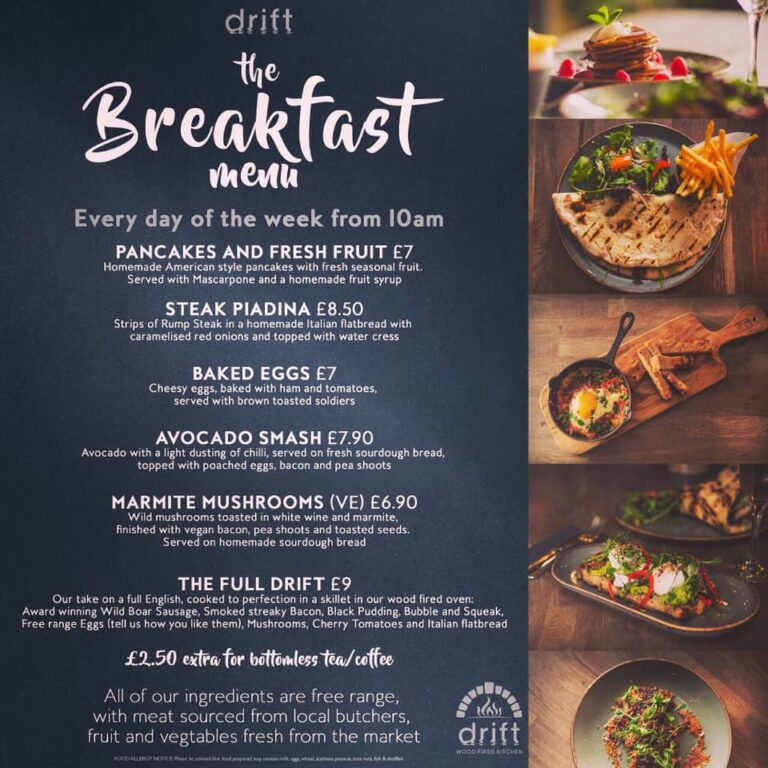 Bottomless Brunch In Portsmouth - Book Your Table At Drift Southsea !