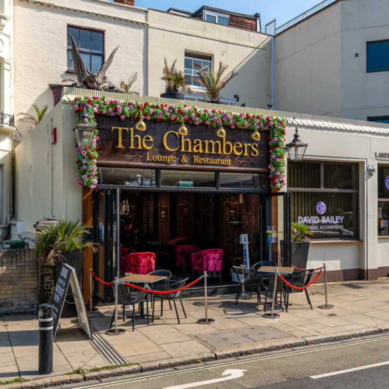 Restaurant Terraces In Portsmouth – The Chambers Al Fresco Dining !