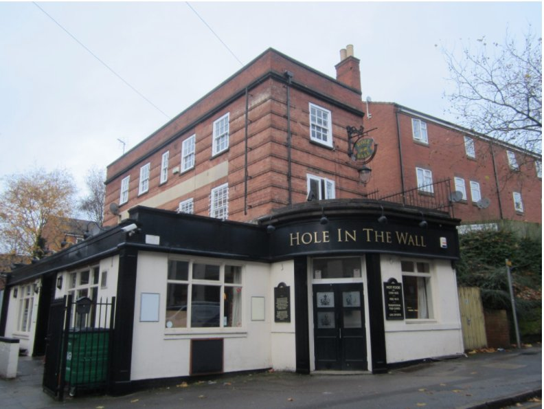 Pubs Available In Nottingham The Hole In The Wall is Available!